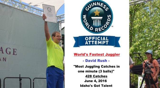 World's Fastest Juggler