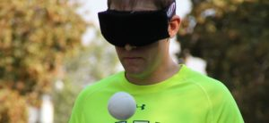 Blindfolded Juggling