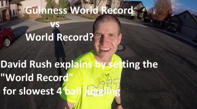 Difference Between a World Record and Guinness World Record