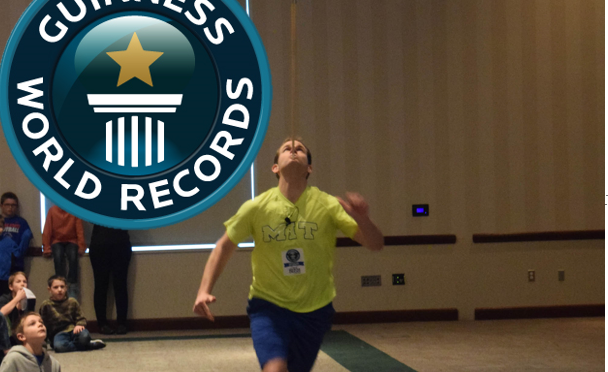 10 meters for Guinness World Record #12